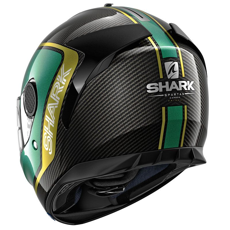 Shark Casque Moto SPARTAN CARBON SKIN DWS Noir//Blanc Taille M
