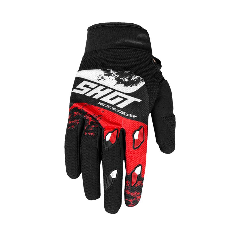 Gants cross Shot CONTACT - SHADOW - RED WHITE 2020