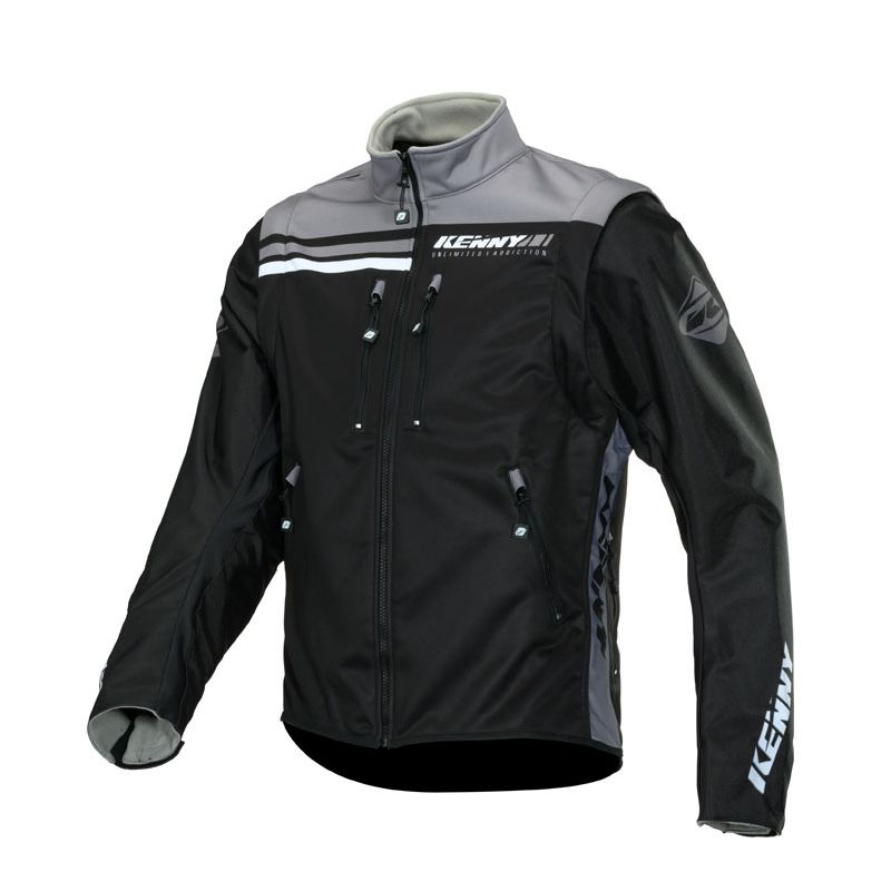 Veste enduro Kenny SOFTSHELL ENDURO - BLACK GREY 2020