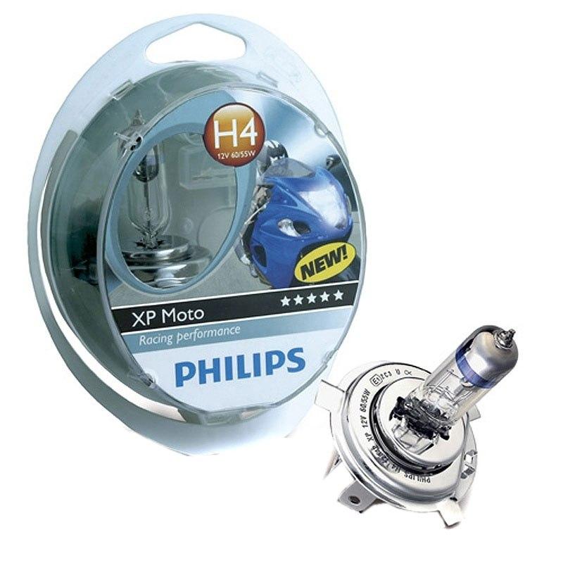ampoule philips xp moto h4 12v 60 55w p43t 38 eclairage et signalisation. Black Bedroom Furniture Sets. Home Design Ideas