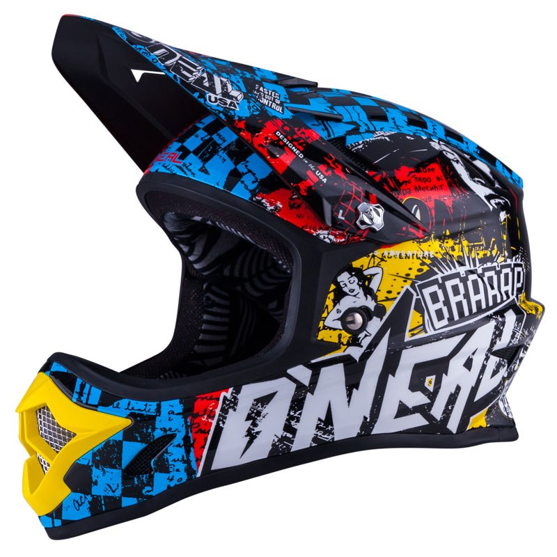 Casque cross O'Neal 3 SERIES YOUTH - WILD - MULTICOLORE