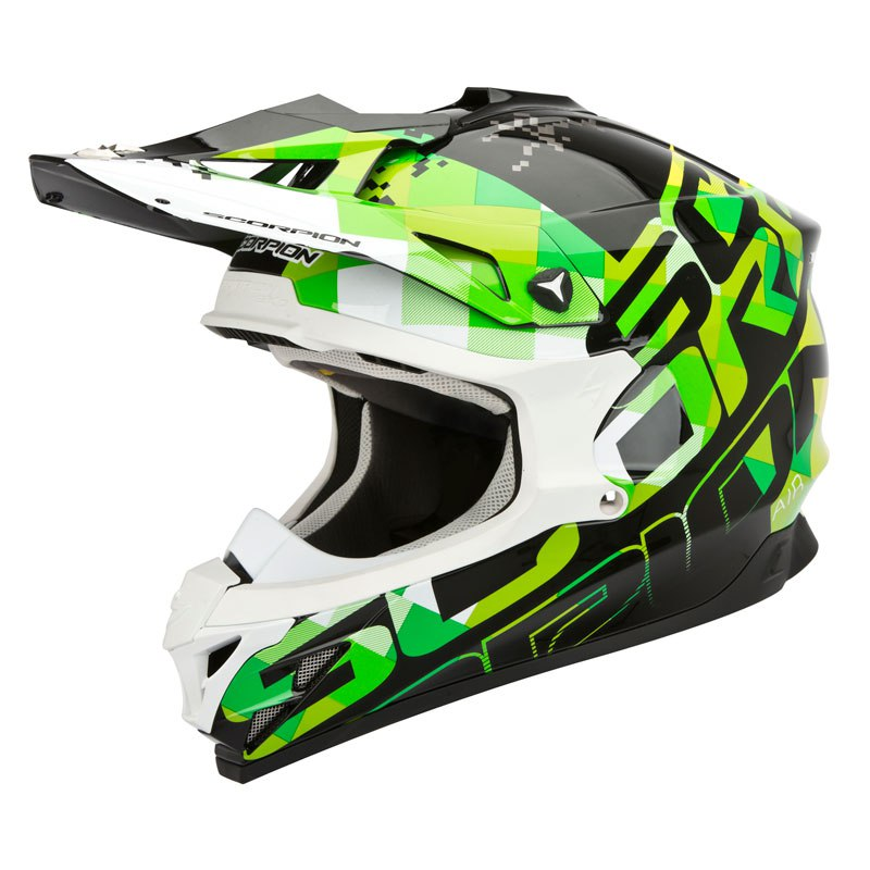 Casque Cross Scorpion Exo Vx-15 Evo Air - Grid