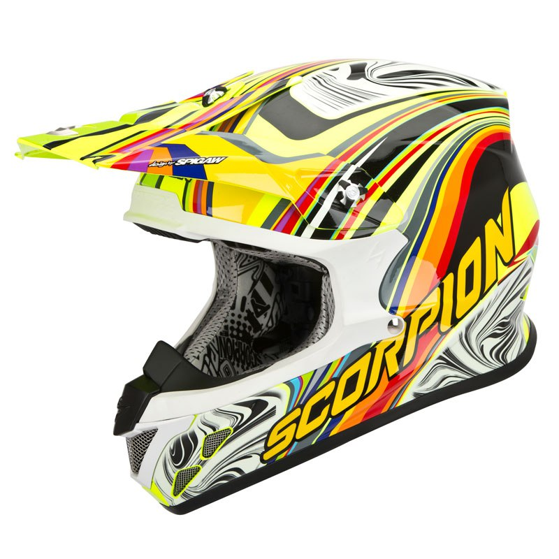Casque cross Scorpion Exo VX-20 AIR - SYM 2017