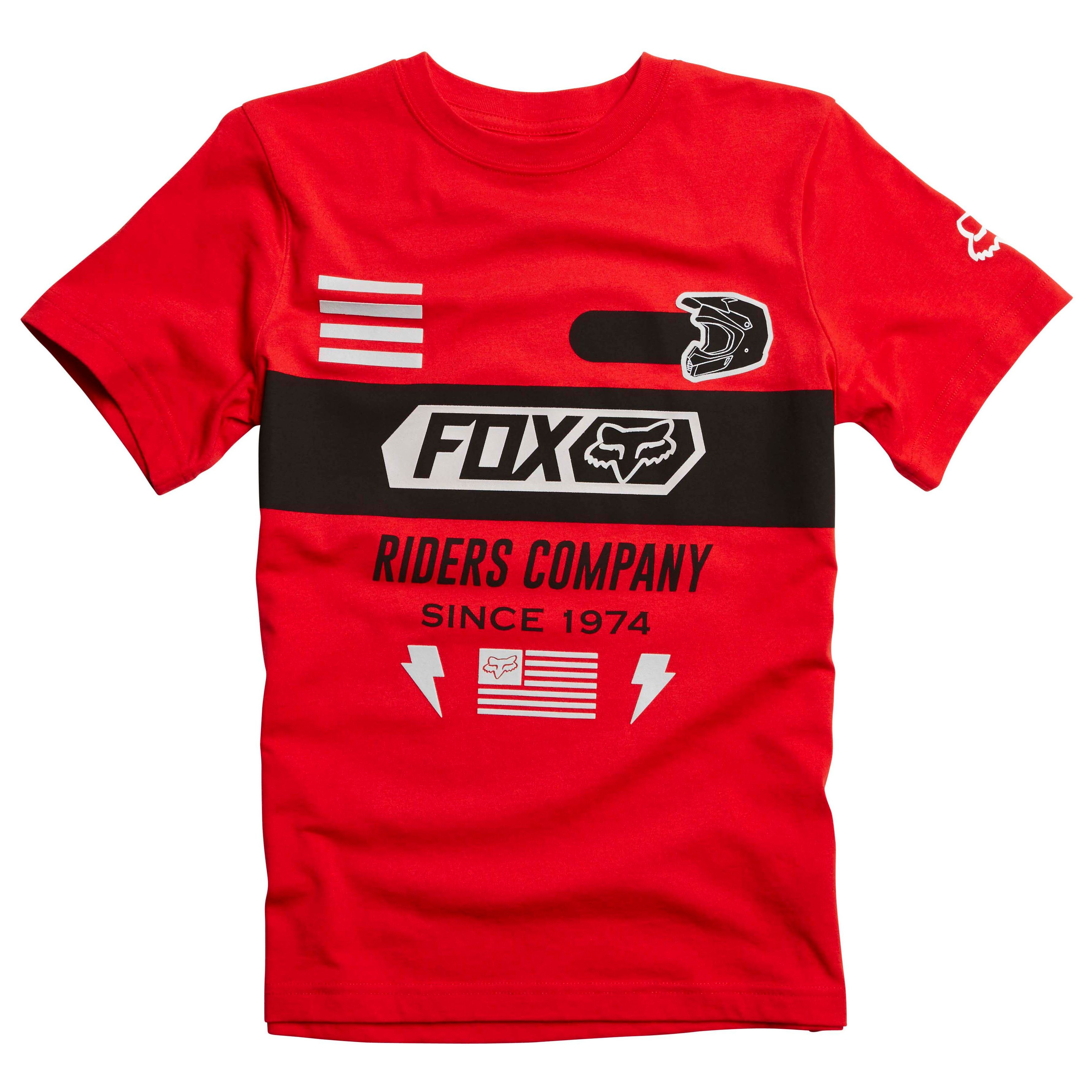T-shirt Manches Courtes Fox Youth Osage