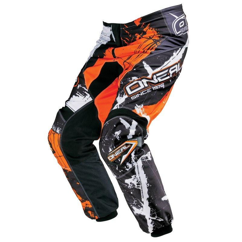 Pantalon Cross O'neal Element Shocker Youth - Noir Orange -