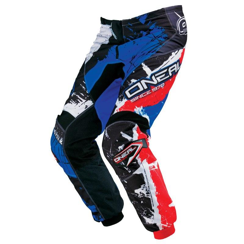 Pantalon Cross O'neal Element Shocker - Noir Bleu Rouge -