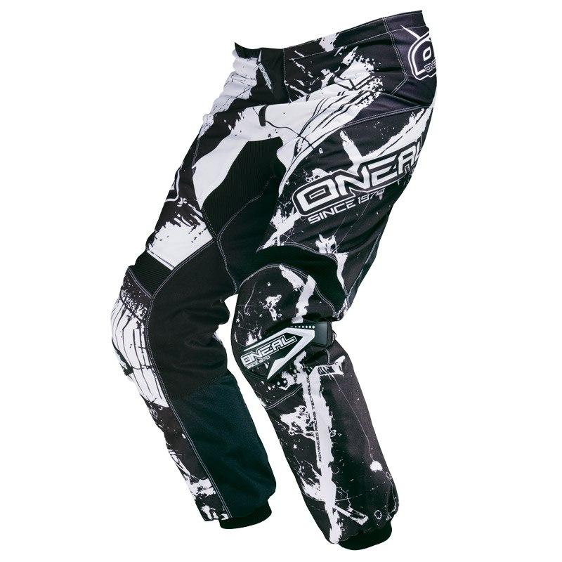 Pantalon Cross O'neal Element Shocker - Noir Blanc -