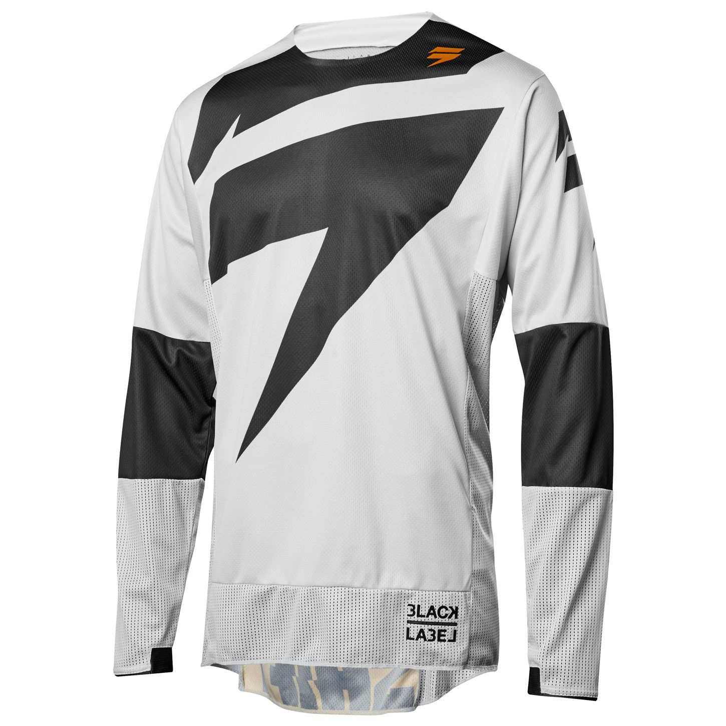 Maillot cross Shift BLACK MAINLINE - GRIS CLAIR - 2018