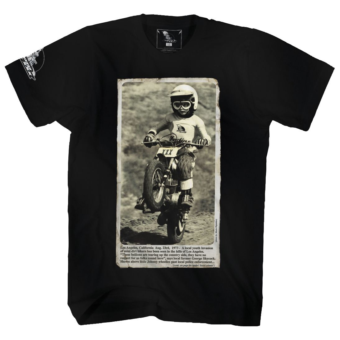 T-shirt Manches Courtes O'neal Moto Xxx Wheelie
