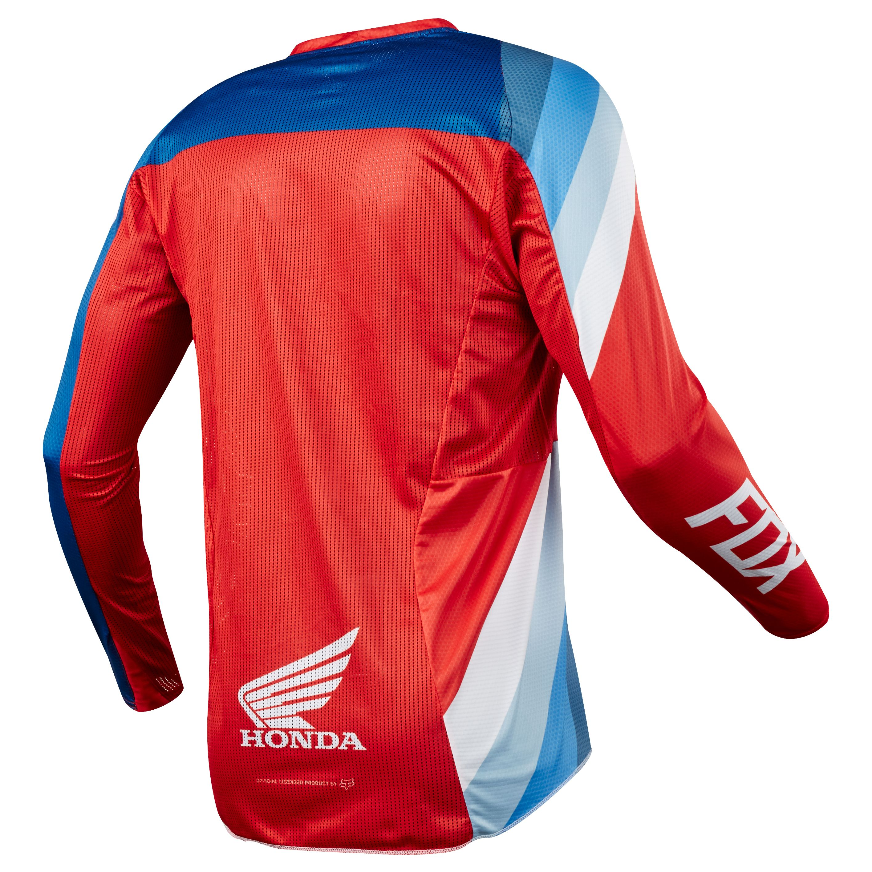 Maillot cross Fox 360 HONDA - ROUGE -  2018