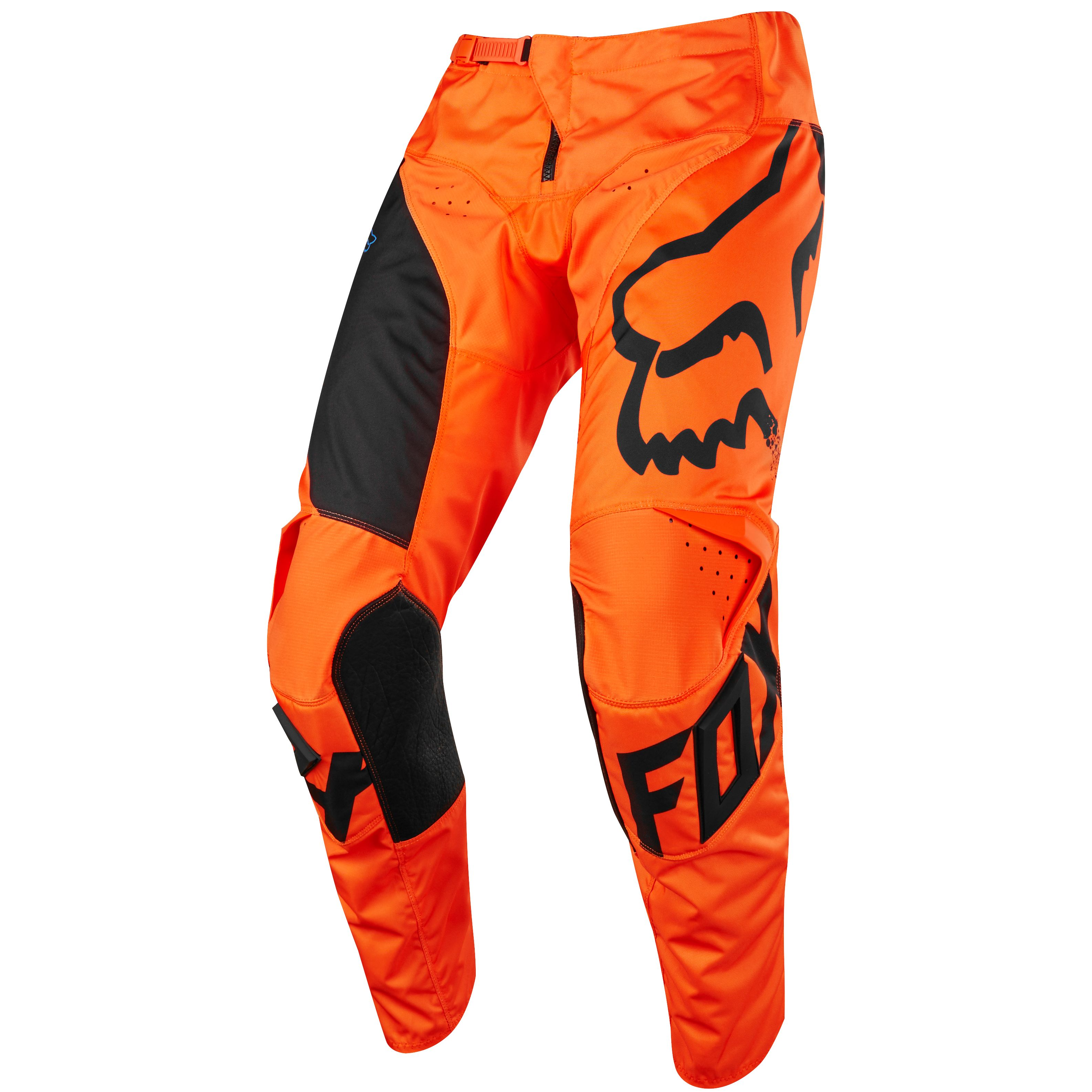 Pantalon cross Fox 180 YOUTH MASTAR - ORANGE -  2018