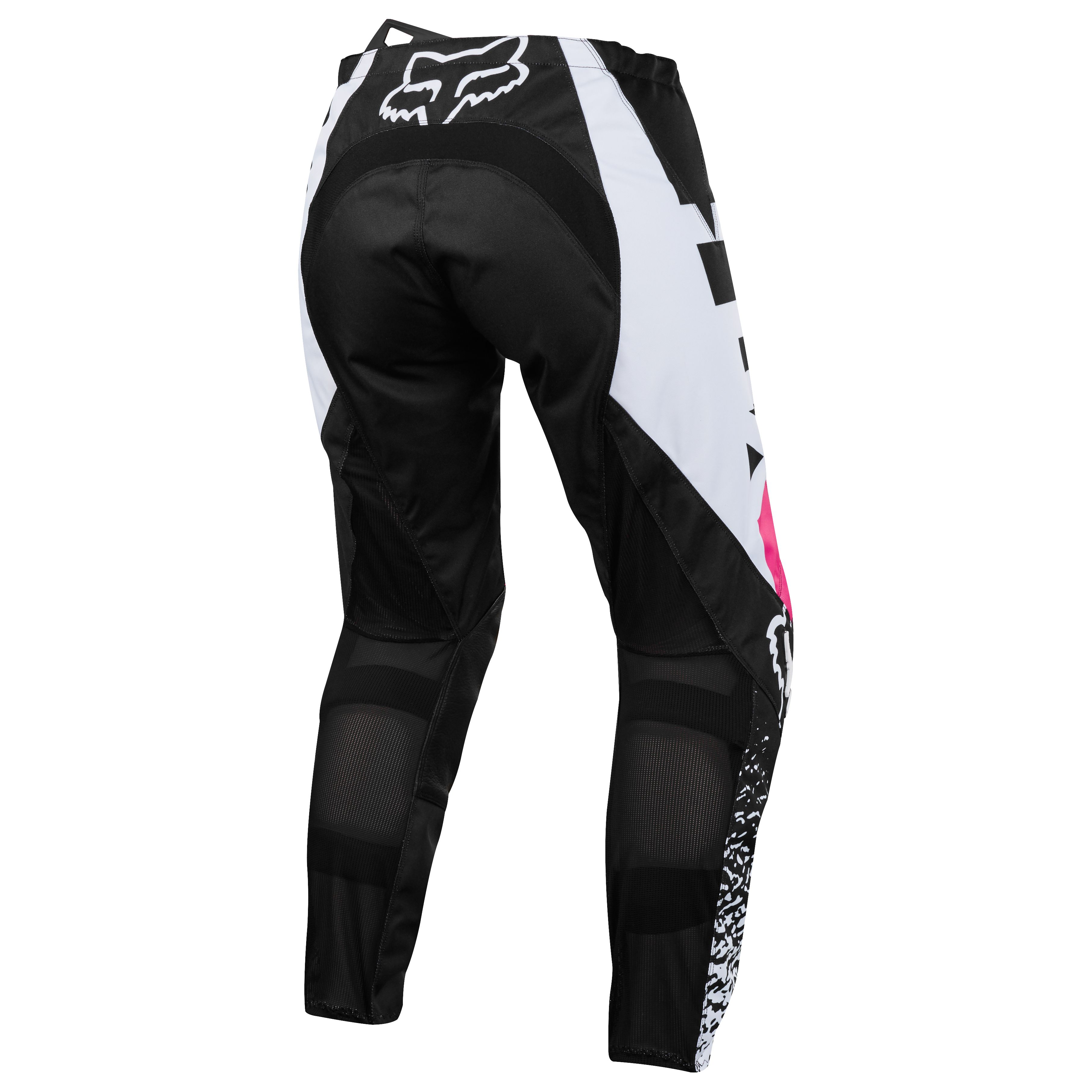Pantalon cross Fox 180 YOUTH GIRLS - NOIR ROSE -  2018