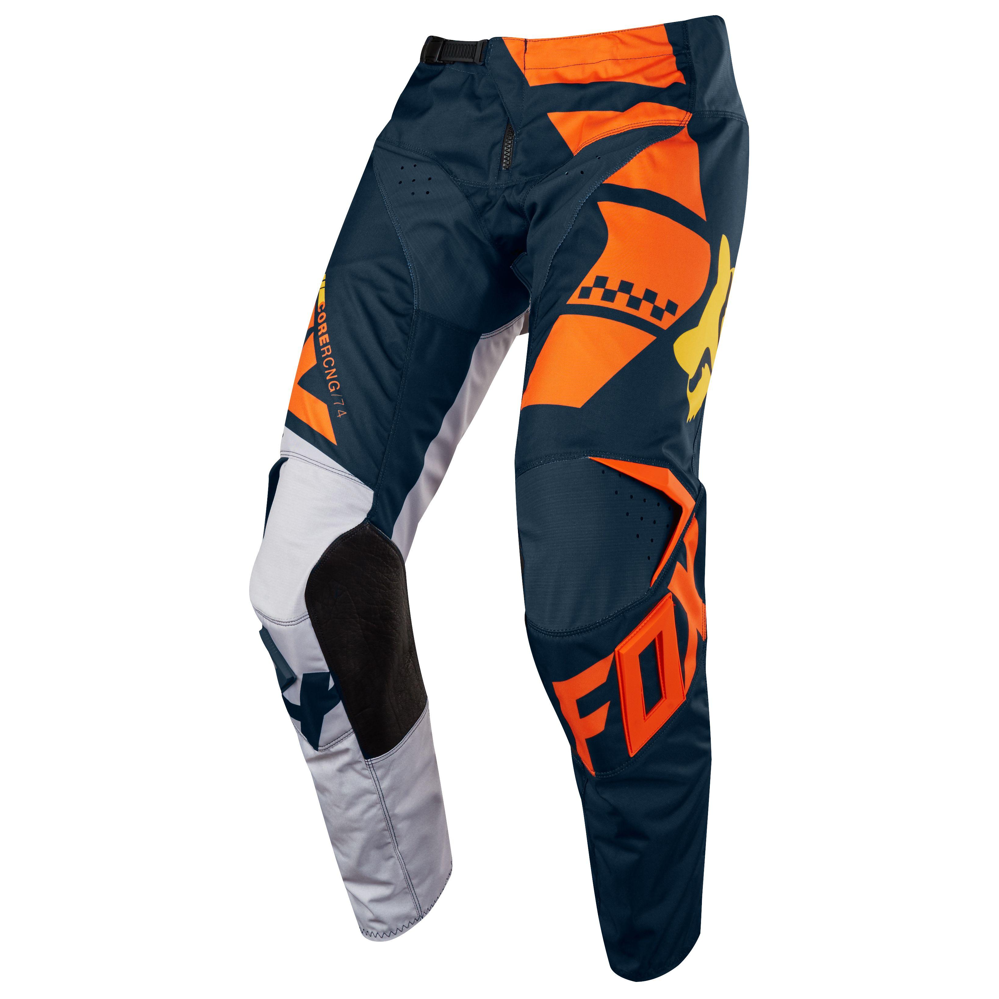 soldes pantalon cross fox 180 youth kid orange pilote tout terrain. Black Bedroom Furniture Sets. Home Design Ideas