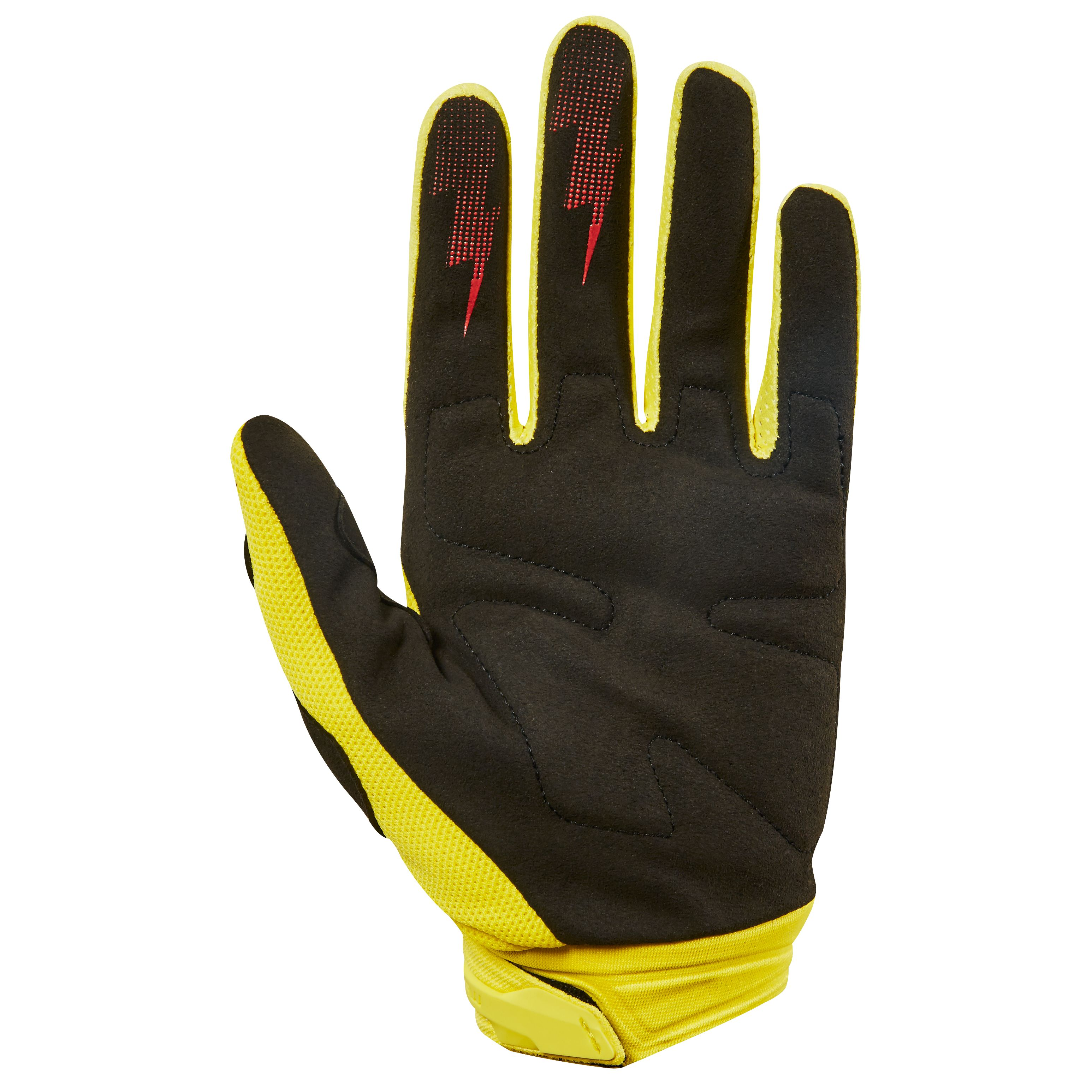 Gants cross Fox DIRTPAW RACE - JAUNE -  2018