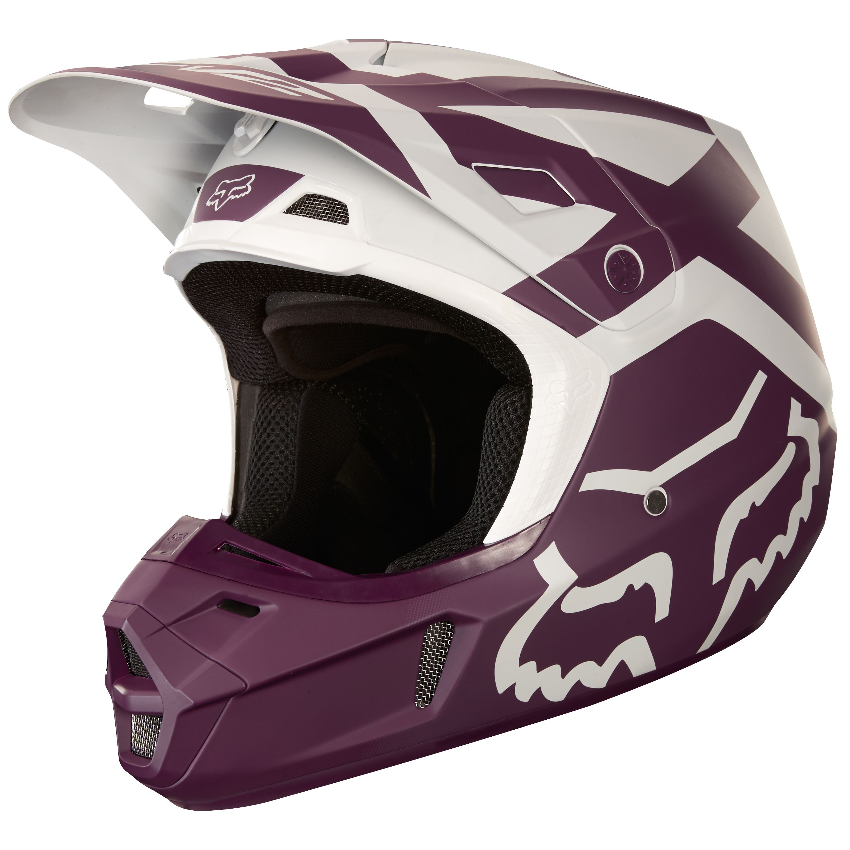 Casque moto cross fox