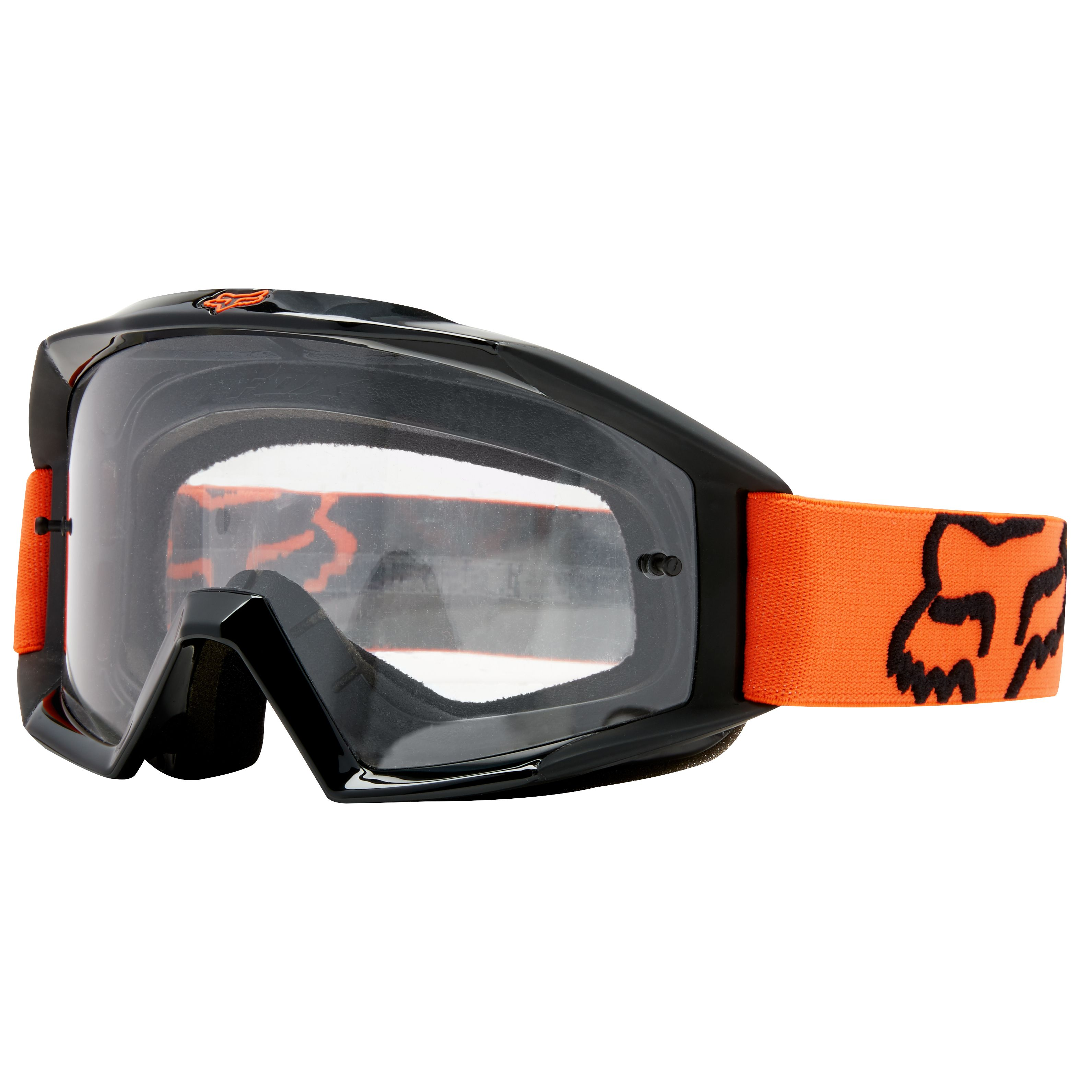 Masque Cross Fox Main - Orange -