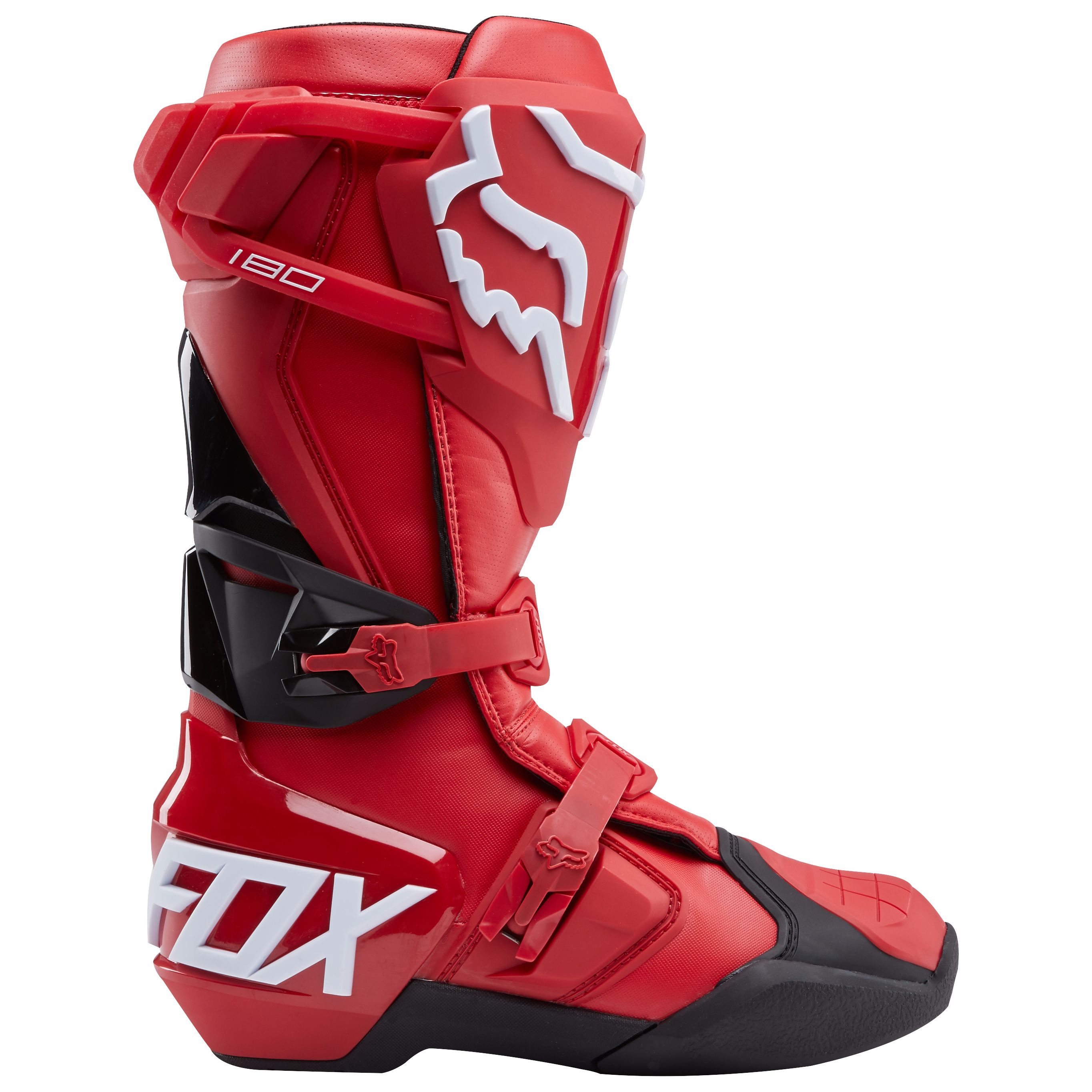 Bottes cross Fox 180 - ROUGE - 2018