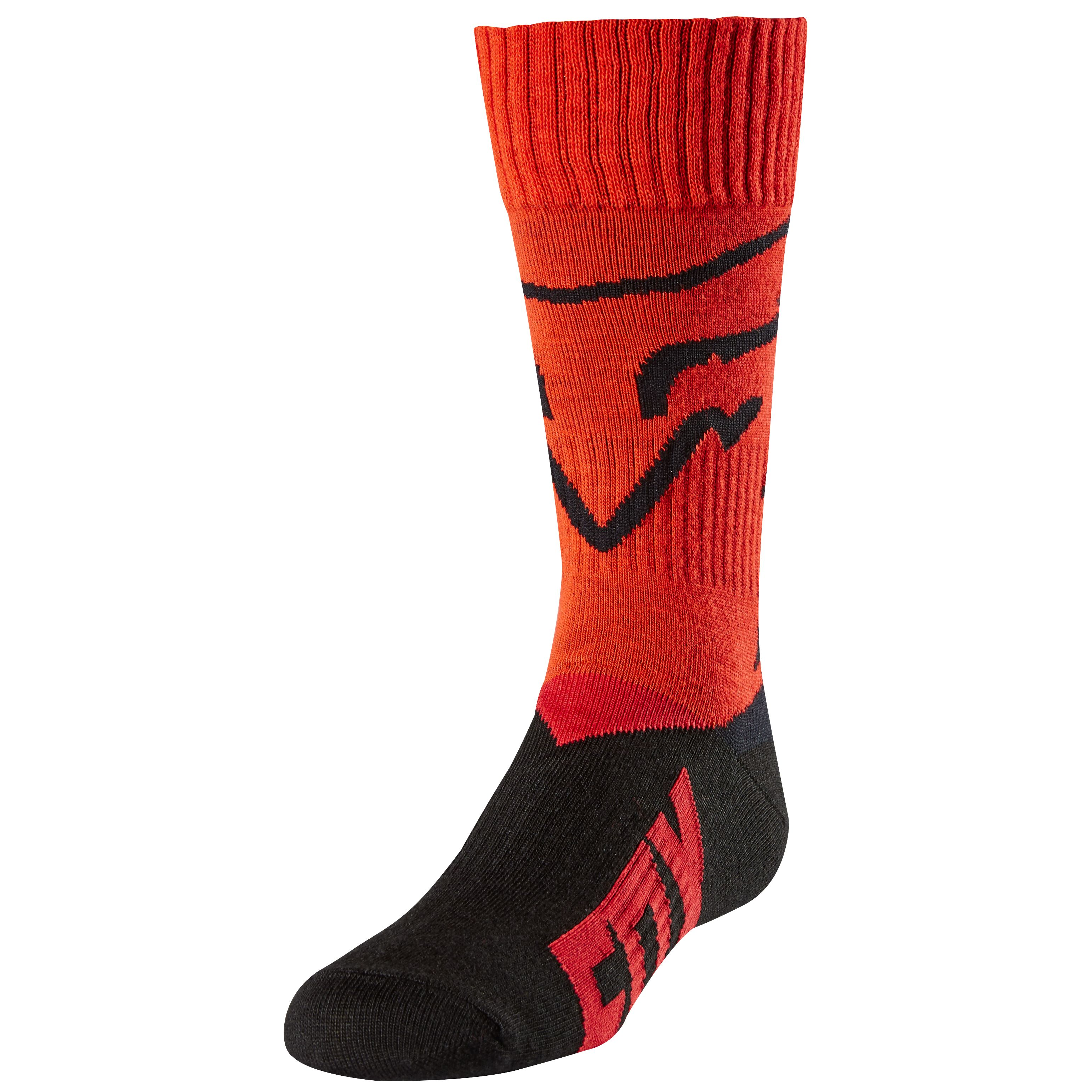 Chaussettes Fox MX YOUTH MASTAR - ROUGE - 2018
