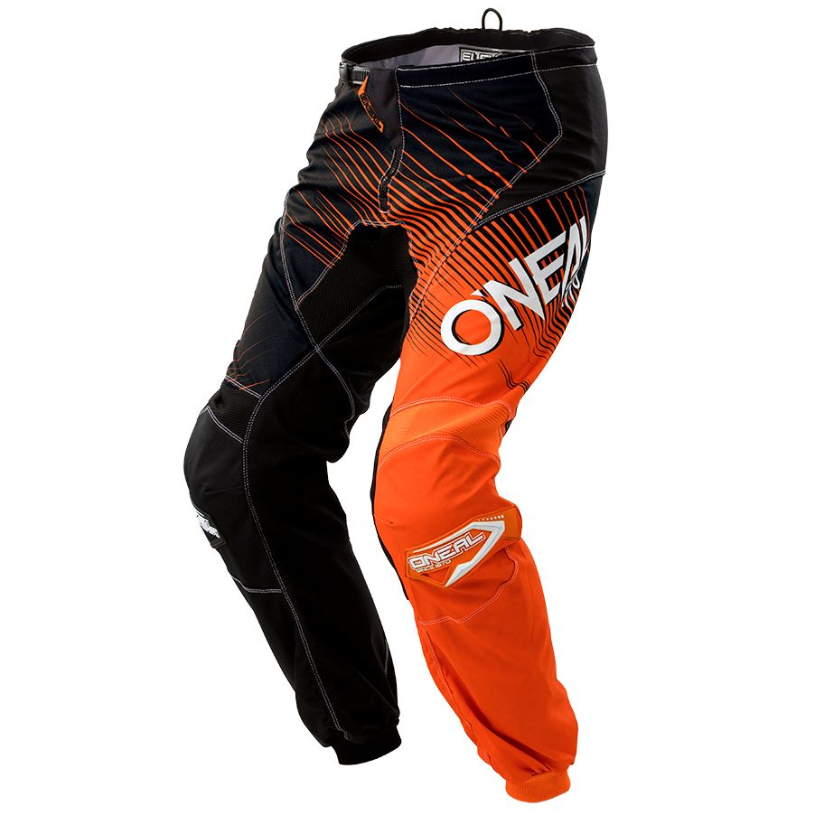 Pantalon Cross O'neal Element Racewear - Noir Orange -