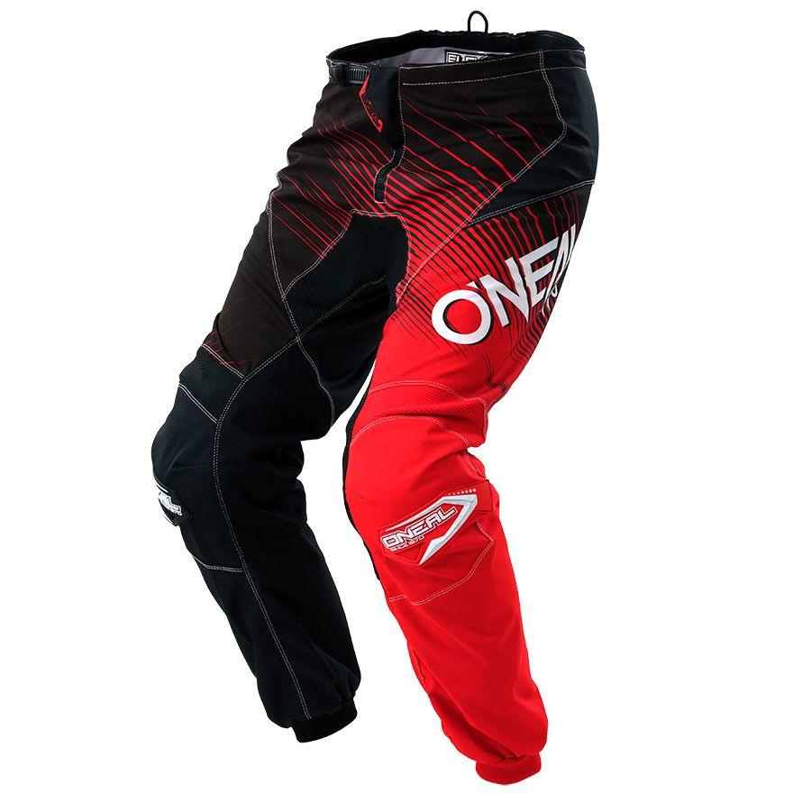 Pantalon Cross O'neal Element Racewear - Noir Rouge -