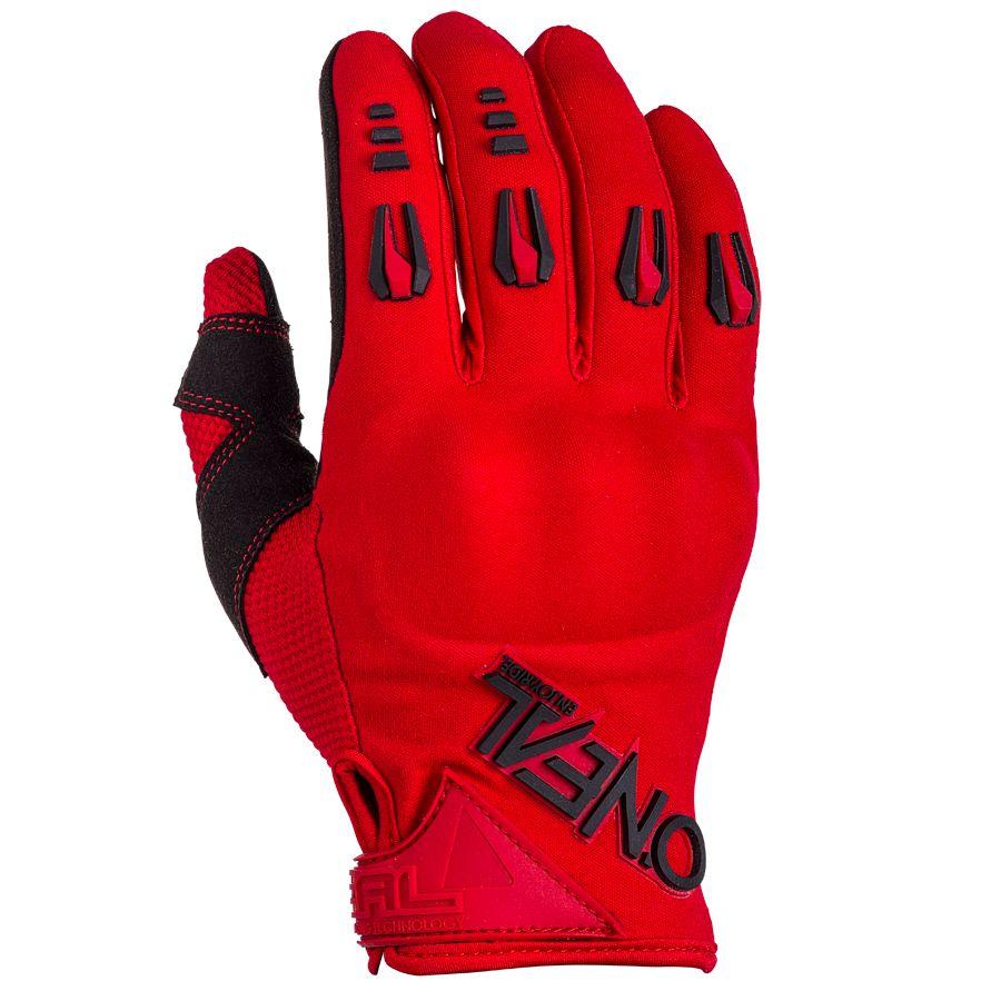 Gants Cross O'neal Hardwear Iron - Rouge -