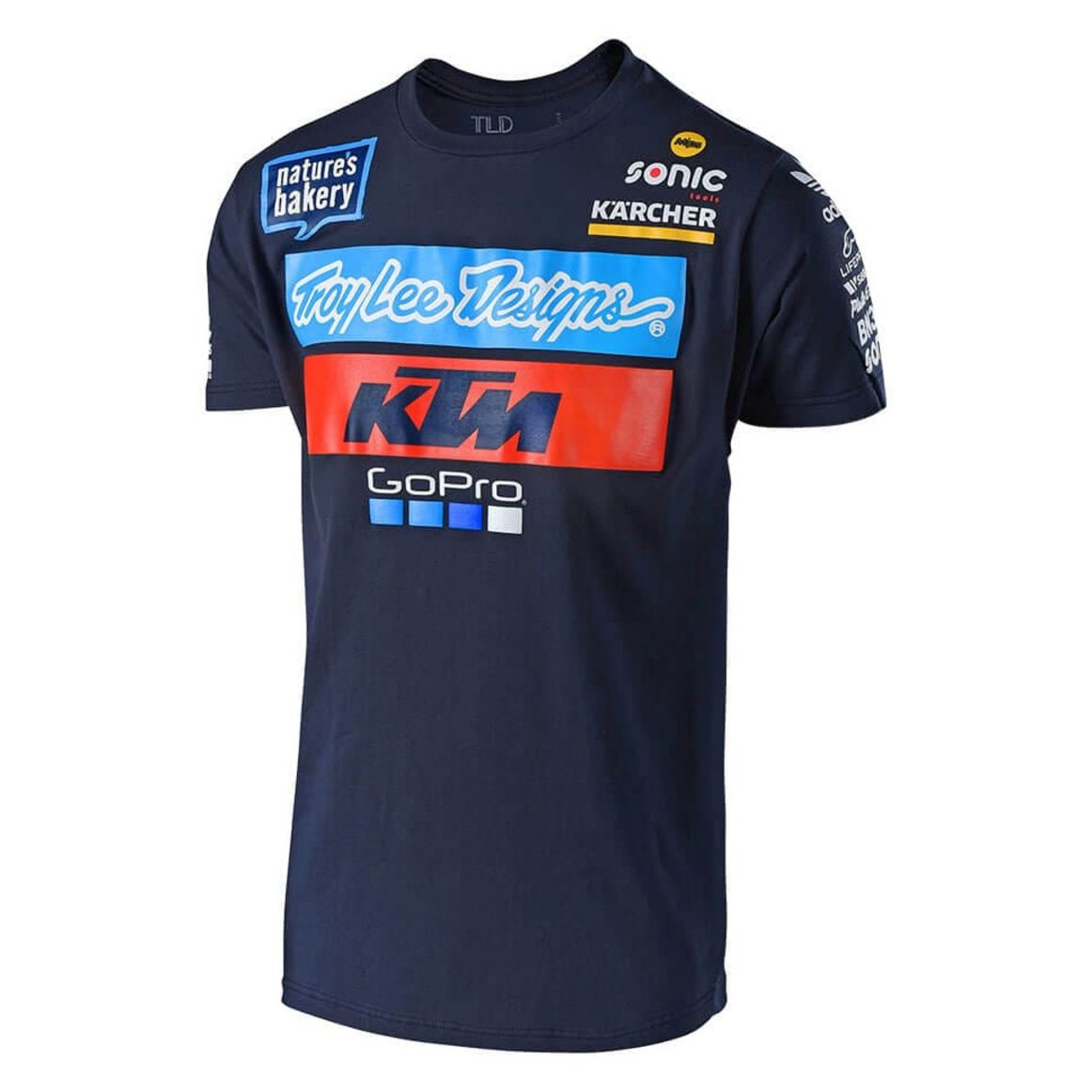 T Shirt Manches Courtes Troylee Design Tld Ktm Team Youth Tee Navy