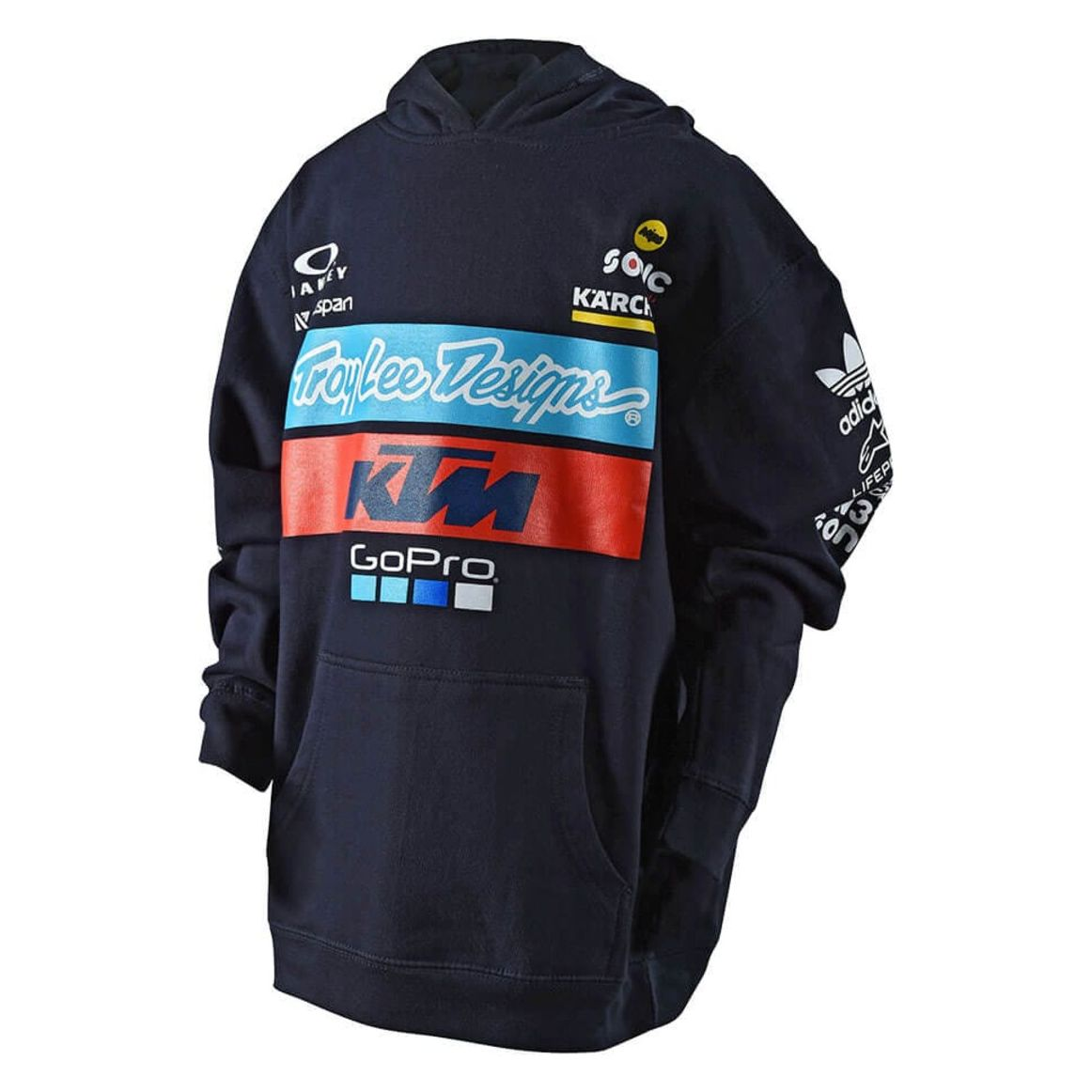 Sweat Troylee Design Tld Ktm Team Youth Pullover Fleece Navy