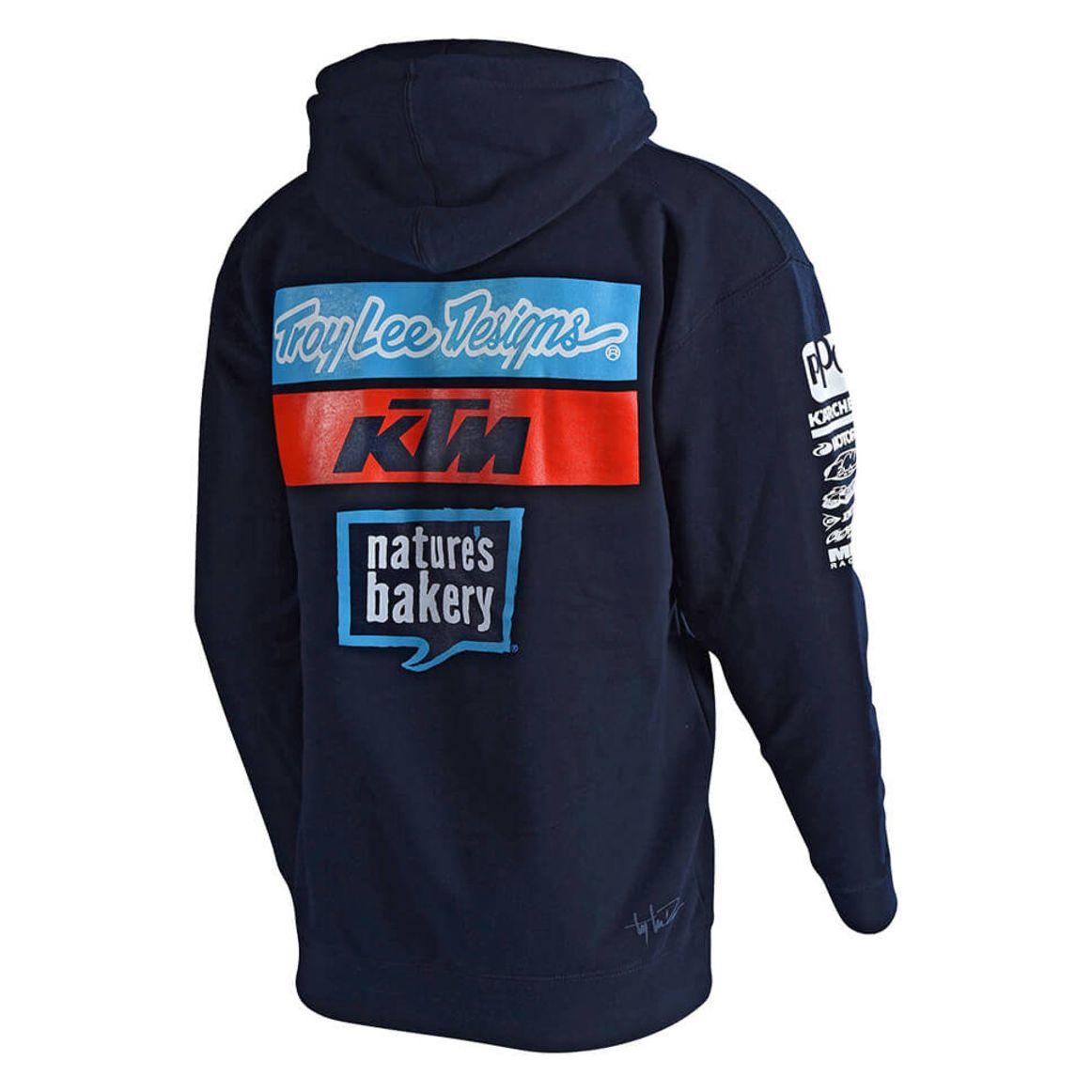 Ktm Team Tld Sportswear Troylee Design Fleece Veste Navy Zipup wIqTtxWA6
