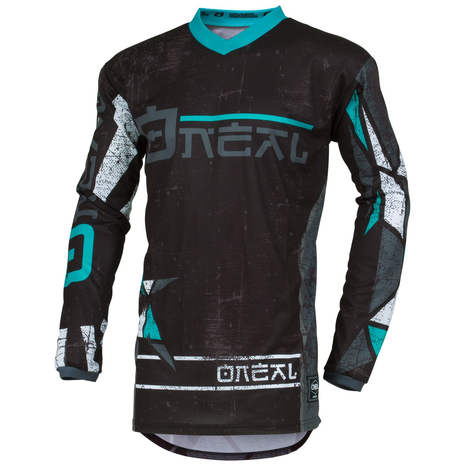 Maillot cross O'Neal ELEMENT - ZEN - TEAL 2019