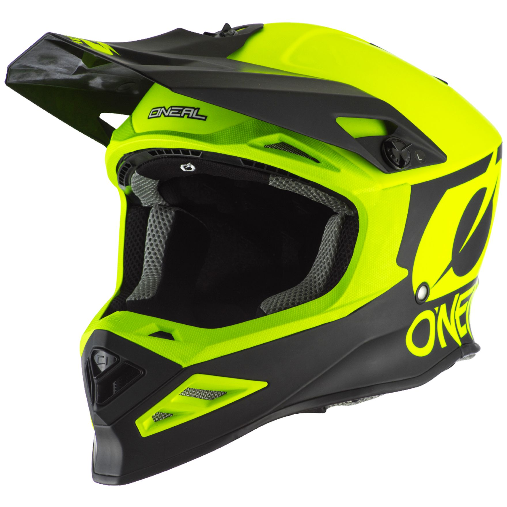 Casque cross O'Neal 8 SERIES - 2T - NEON YELLOW 2020