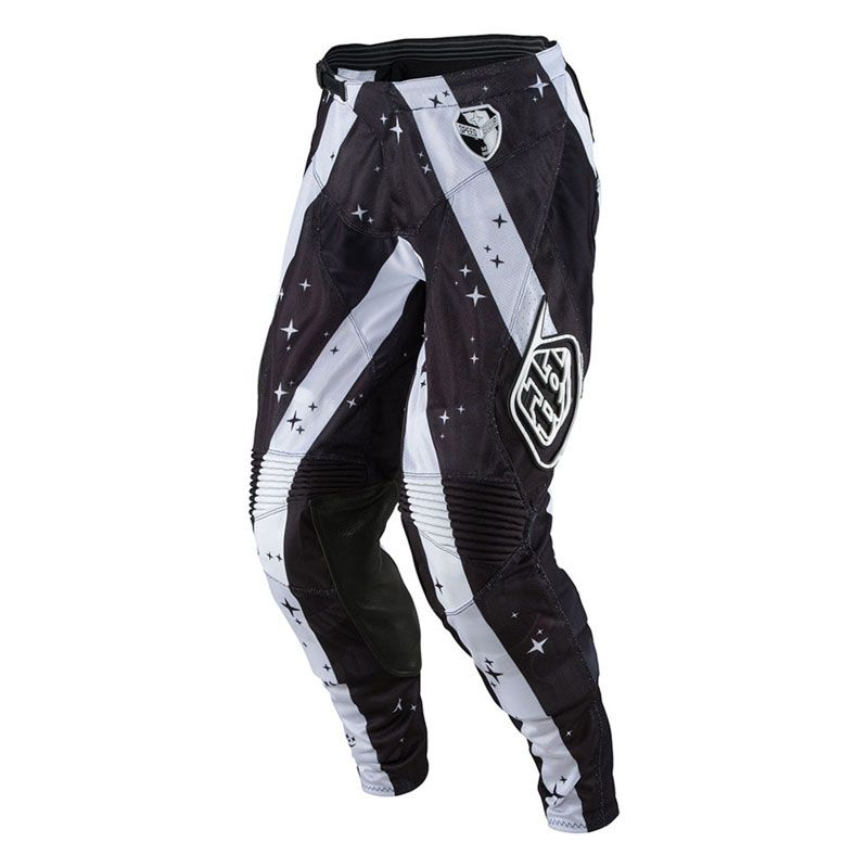 Pantalon cross TroyLee design SE AIR PHANTOM WHITE/BLACK  2017