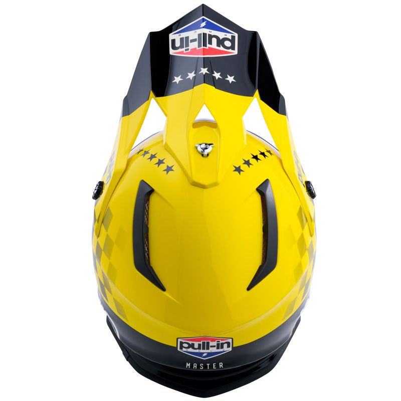 Casque cross Pull-in MASTER YELLOW 2020