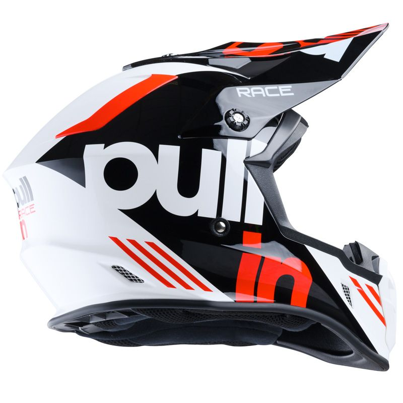 Casque cross Pull-in RACE BLACK RED 2020