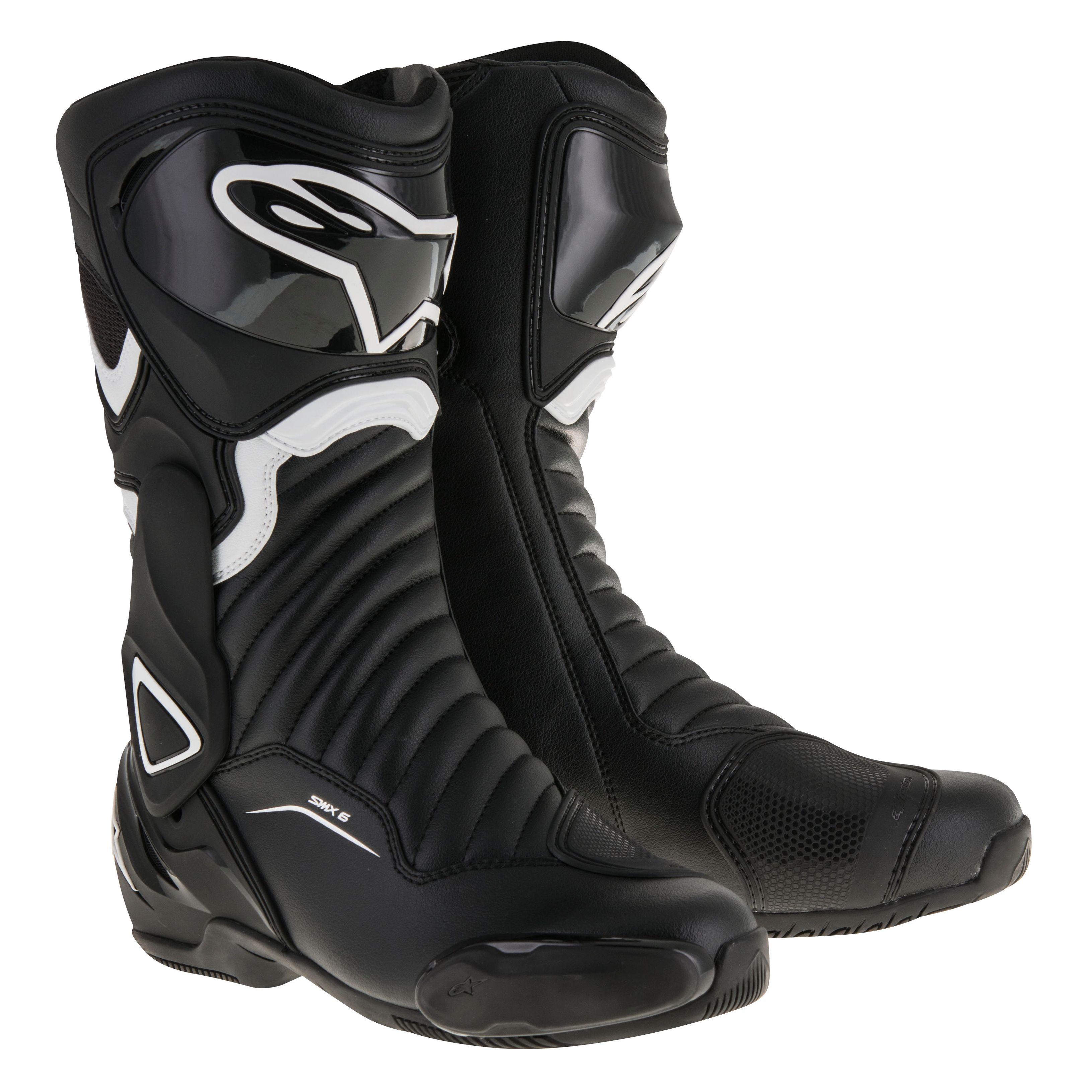 bottes alpinestars stella smx 6 v2 black white bottes et chaussures. Black Bedroom Furniture Sets. Home Design Ideas