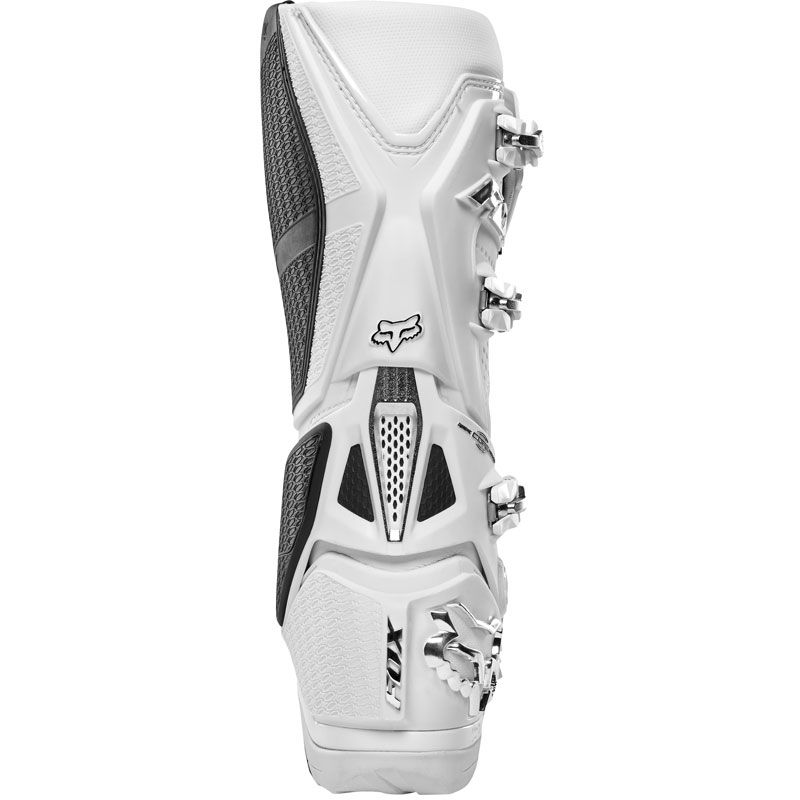 Bottes cross Fox INSTINCT - WHITE SILVER 2019