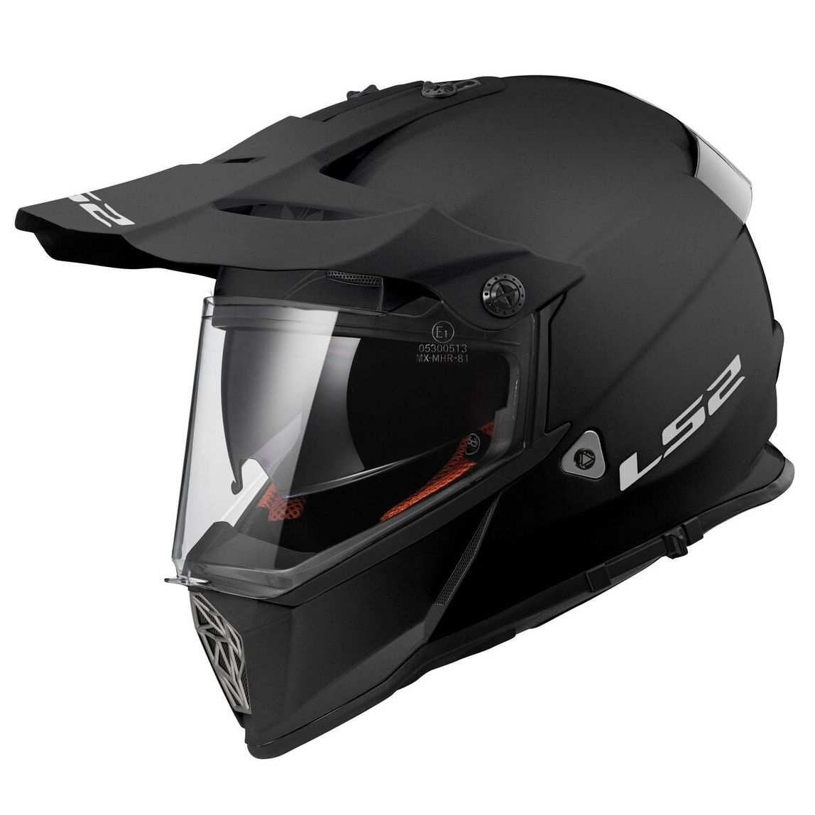 Casque Ls2 Mx436 Pioneer Solid Matt Casque Crossover 2 En 1