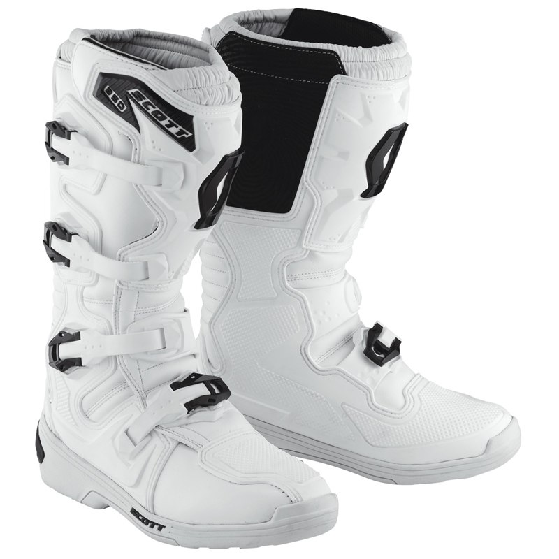 Bottes cross Scott 350 - BLANC - 2018