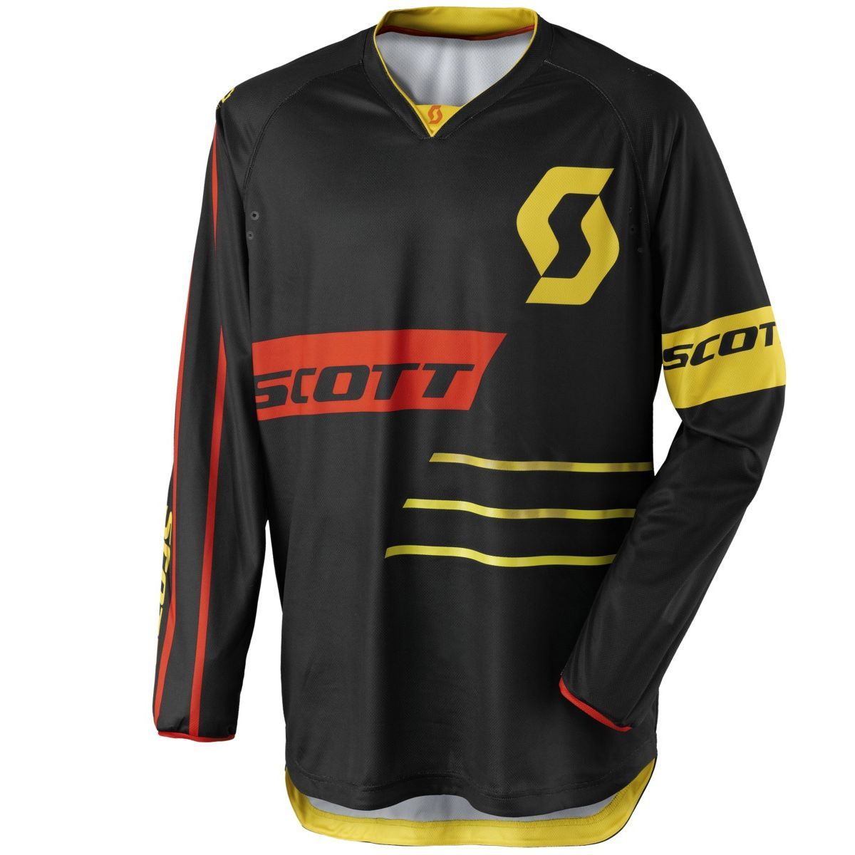 Maillot Cross Scott 350 Dirt Black Yellow