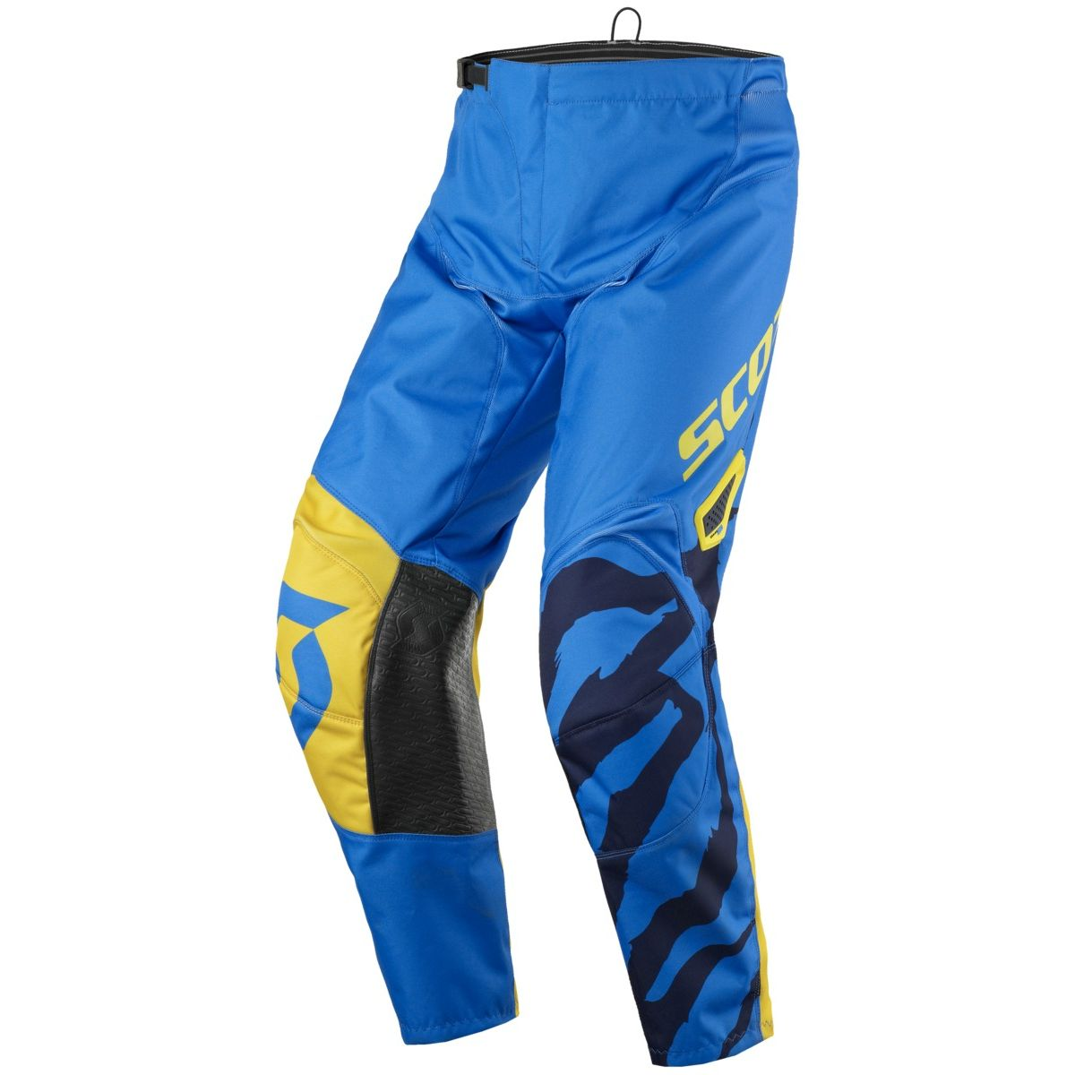 Pantalon cross Scott destockage 350 RACE BLUE YELLOW 2017