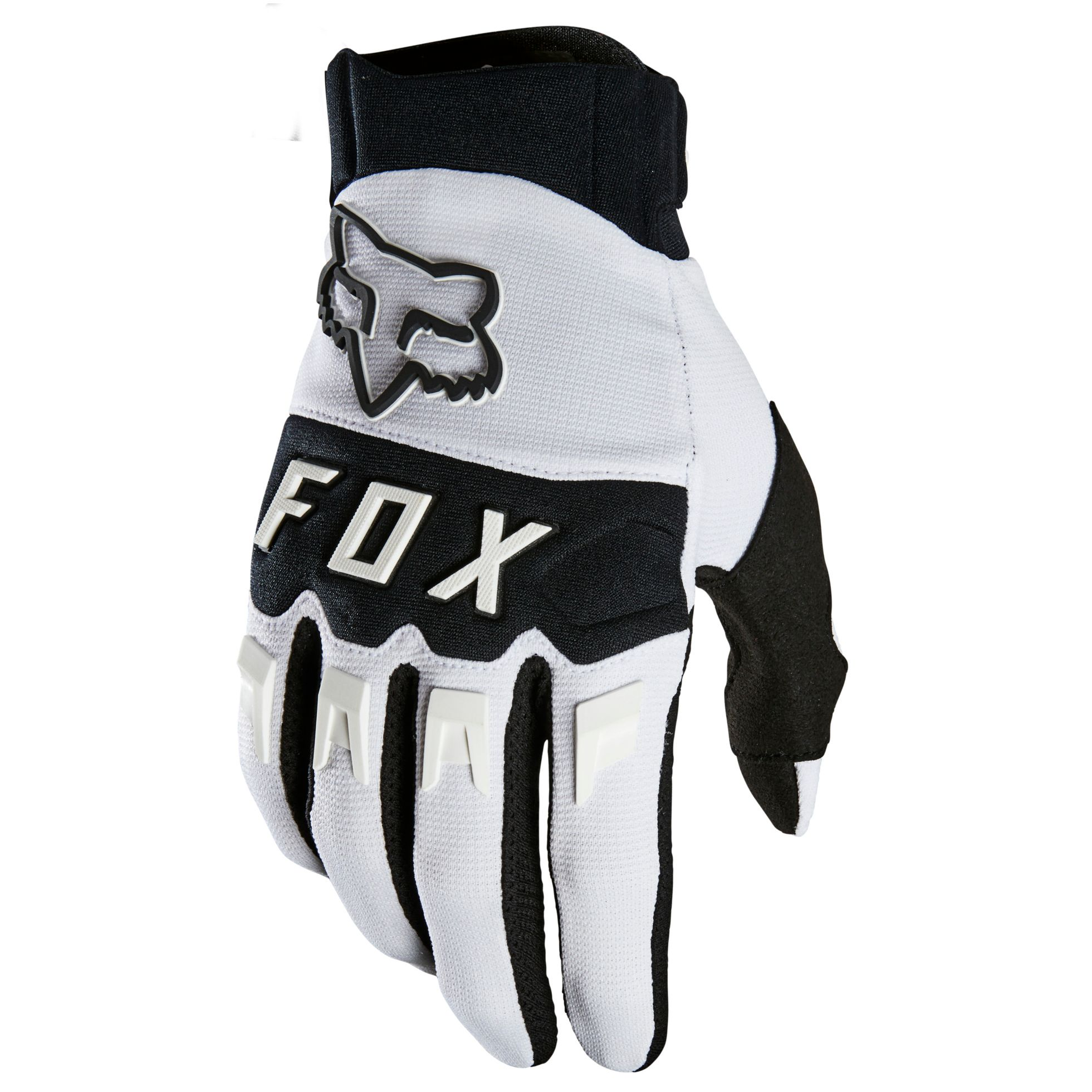 Gants cross Fox DIRTPAW - WHITE 2021
