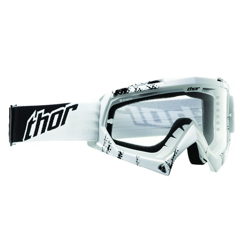 Masque Cross Thor Youth Enemy Web - Blanc -