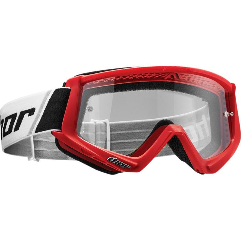 Masque cross Thor COMBAT RED BLACK 2021