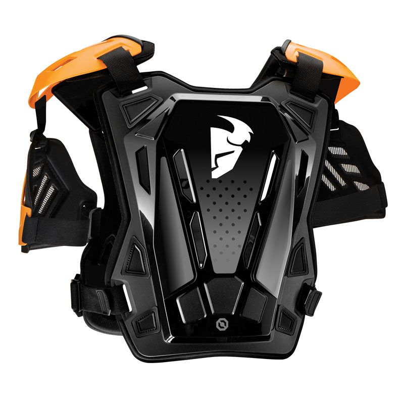 Plastron Thor GUARDIAN - ROOST DEFLECTOR - BLACK ORANGE 2020