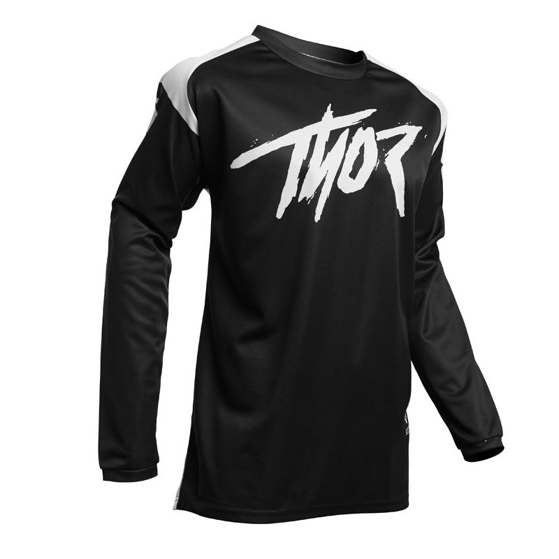 Maillot cross Thor SECTOR - LINK - BLACK 2021