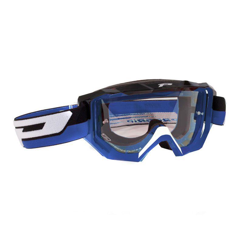 Masque Cross Progrip 3200ls Bleu