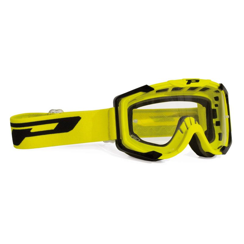 Masque Cross Progrip 3400 Jaune