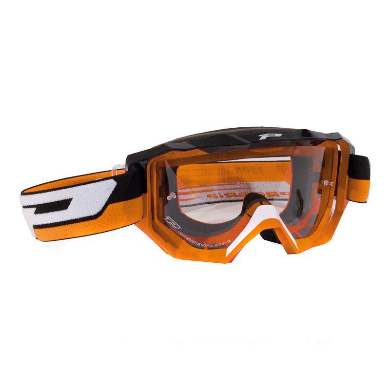 Masque Cross Progrip 3200ls Orange