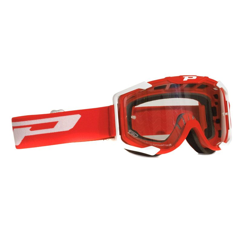 Masque Cross Progrip 3400 Rouge