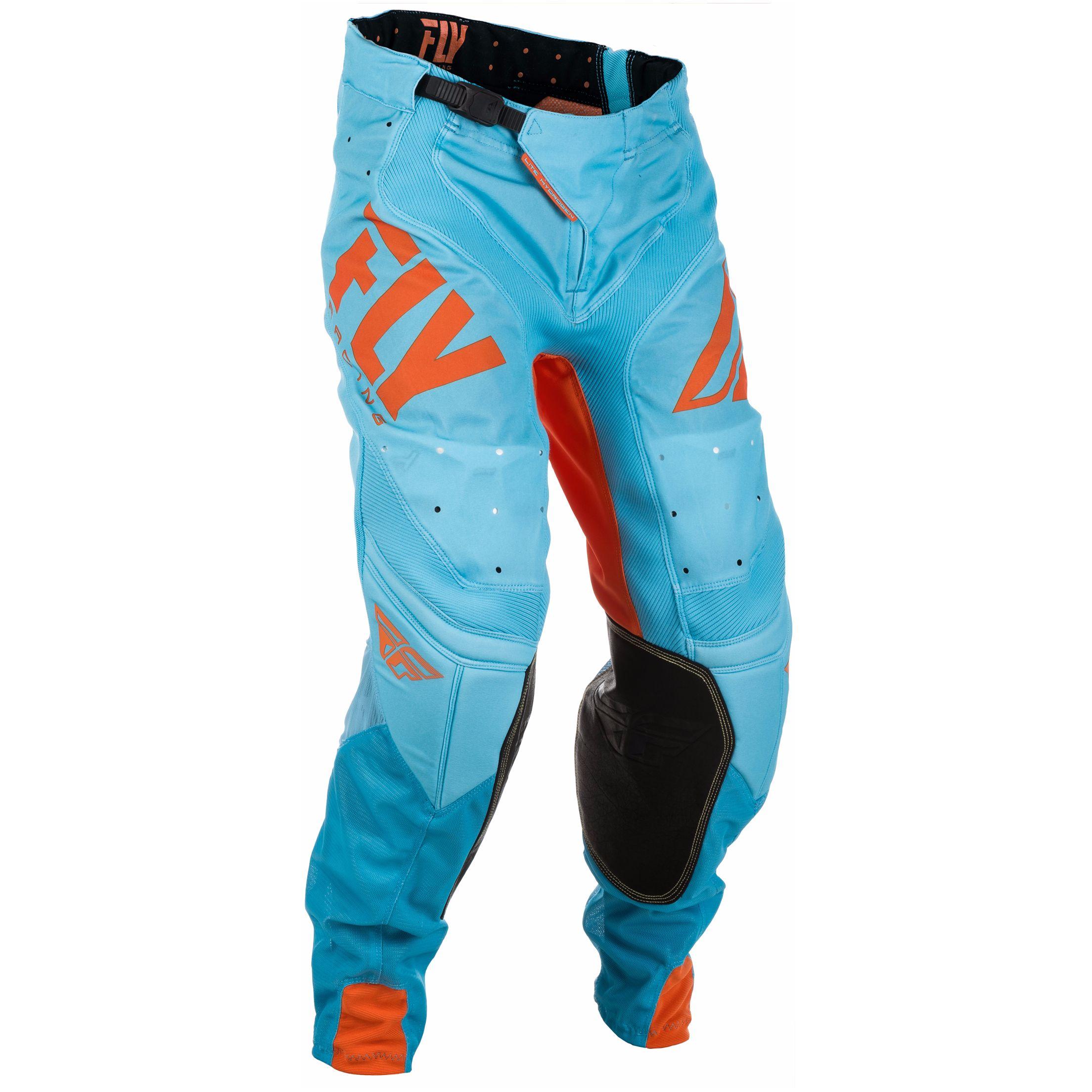 pantalon cross fly lite hydrogen orange bleu 2018 tenue cross. Black Bedroom Furniture Sets. Home Design Ideas