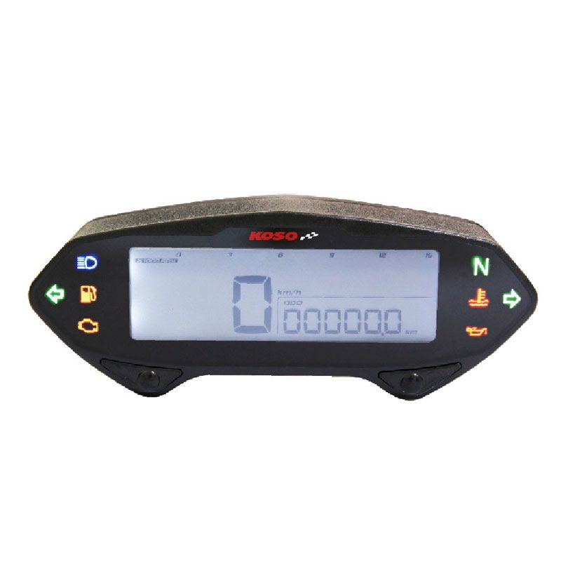 compteur digital koso db 01rn lcd poste de pilotage. Black Bedroom Furniture Sets. Home Design Ideas
